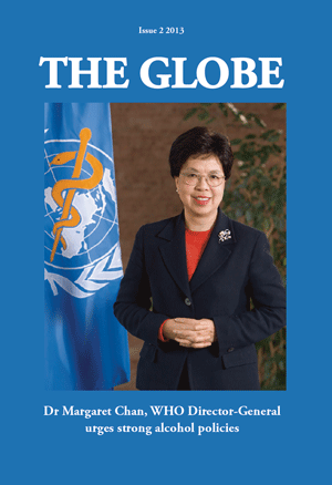 The Globe front page